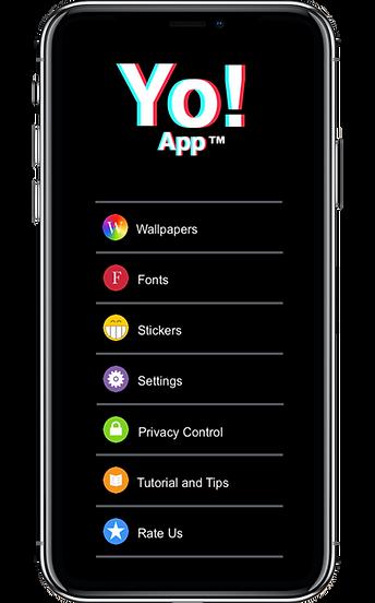 Yo!-App-Main-menu-Apple-iPhoneXsMax.png
