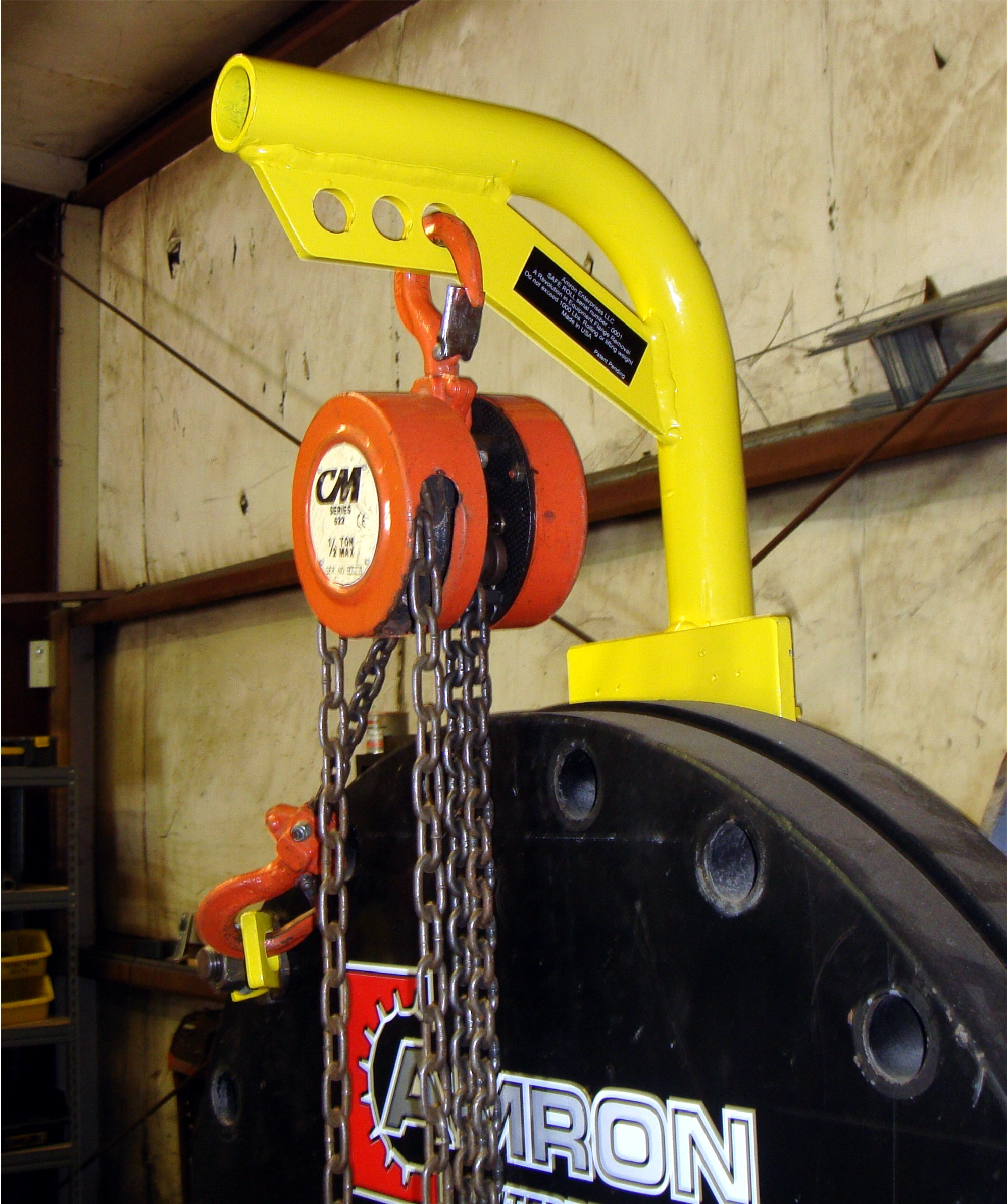 SafeRoll Portable Davit Arm
