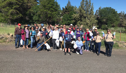 Dry Canyon cleanup