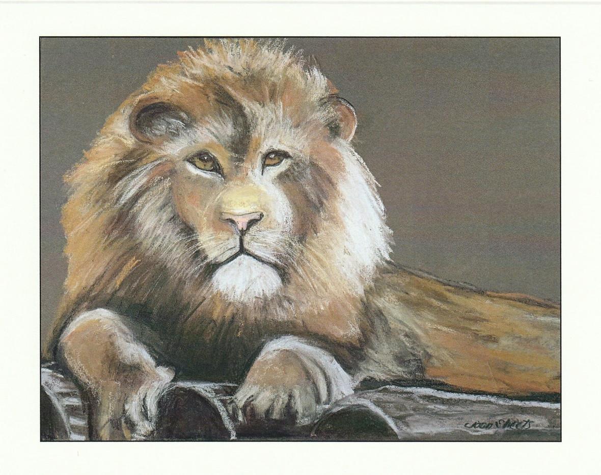"""""""The Big Five""""-Lion"""