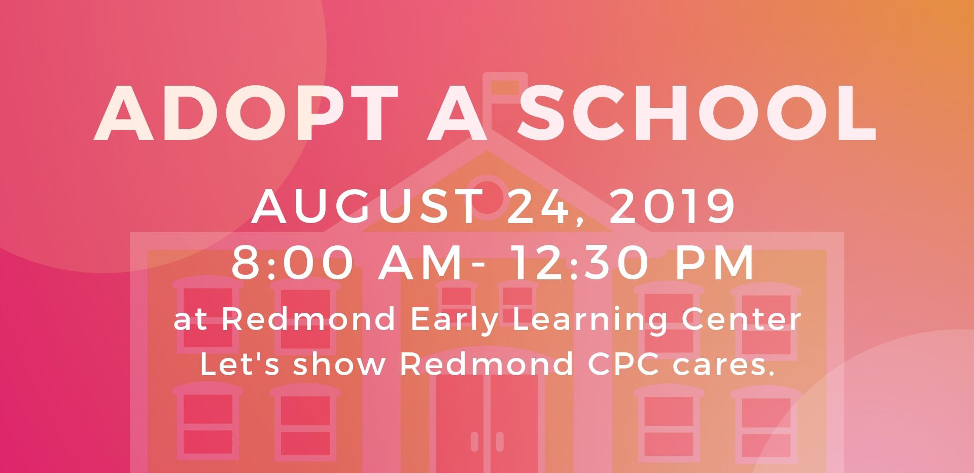 Redmond Early Learning Center service day