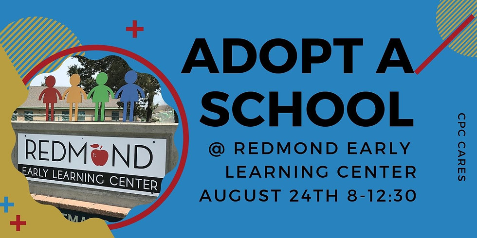 Adopt a School @ Redmond Early Learning Center