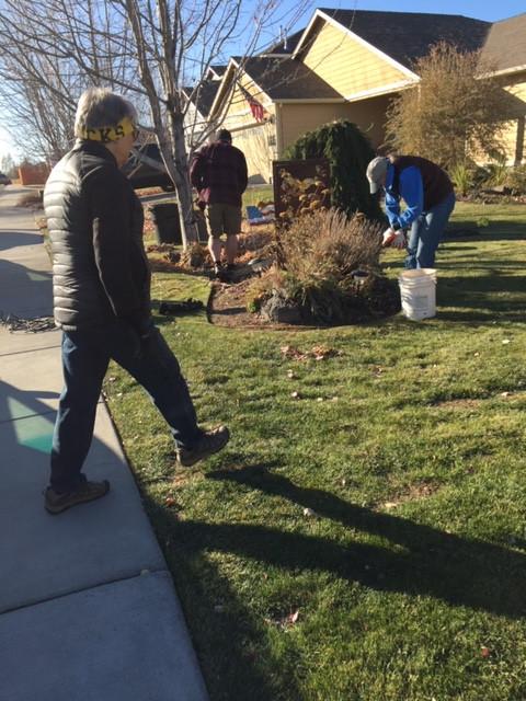 Fall Yard clean up