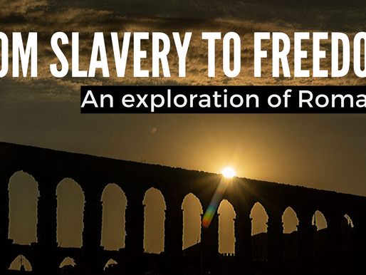 From Slavery To Freedom: We All Need This Good News