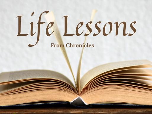 Life Lessons: Wisdom + Worship = Unity