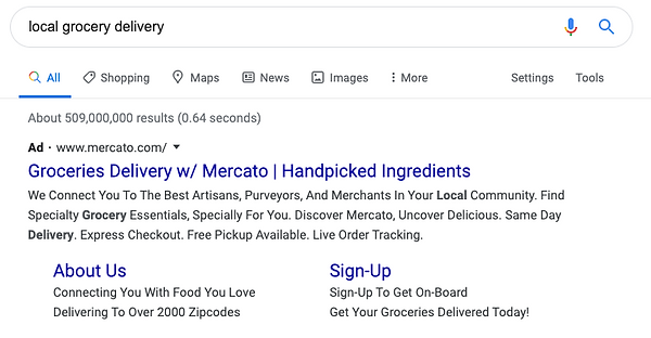 Google Search | Local Grocery Delivery.p