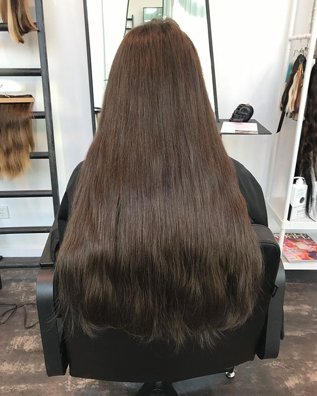 Full head of our Premium invisi Wefts #thickness #hairextensionsadelaide #hairgamestrong #shesashowo