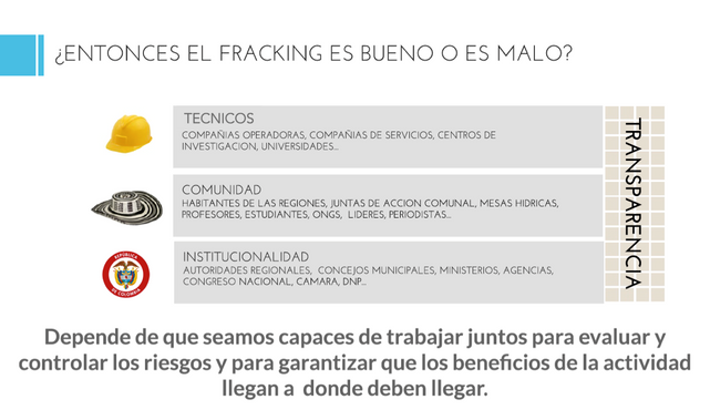 Fracking: una mirada diferente