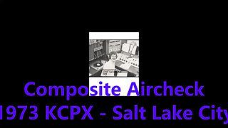 Composite 1973 KCPX Aircheck
