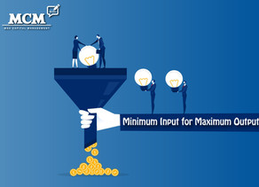 #24 Minimum Input for Maximum Output