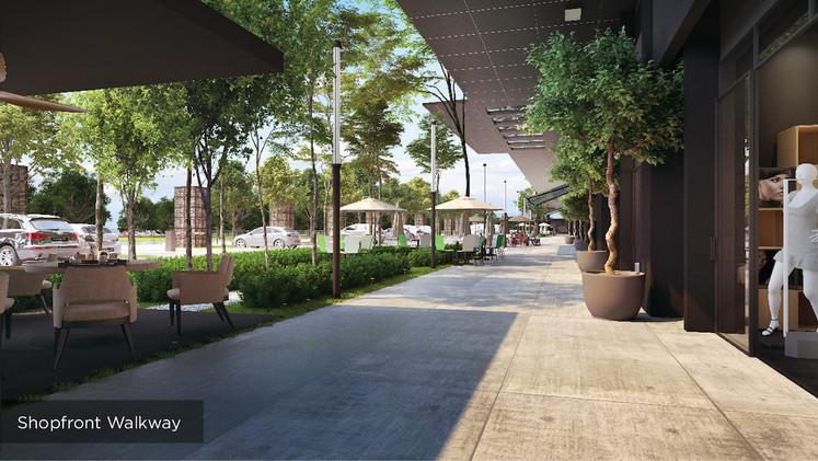 Shopfront Walkway