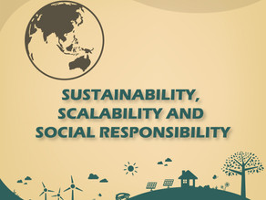 #26 SUSTAINABILITY, SCALABILITY AND SOCIAL RESPONSIBILITY