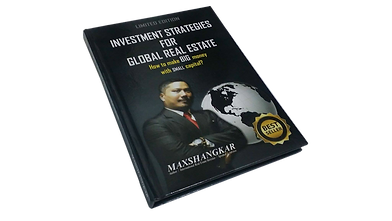 Investment Strategies For Global Real Estate: How to make BIG money with small capital?