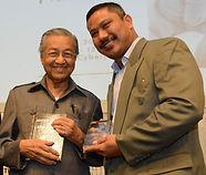 Maxshangkar with Tun Dr Mahathir Mohamad