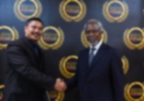 Knowledge is Power, Kofi Annan, Maxshangkar, Midas Touch Asia