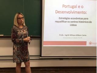 Palestra na PUCPR: A experiência de Ingrid Althaus Milano com a Preservação do Patrimônio Histórico