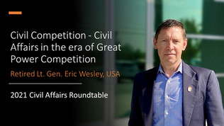 Roundtable Report: Civil Affairs' Opportunity for Competition