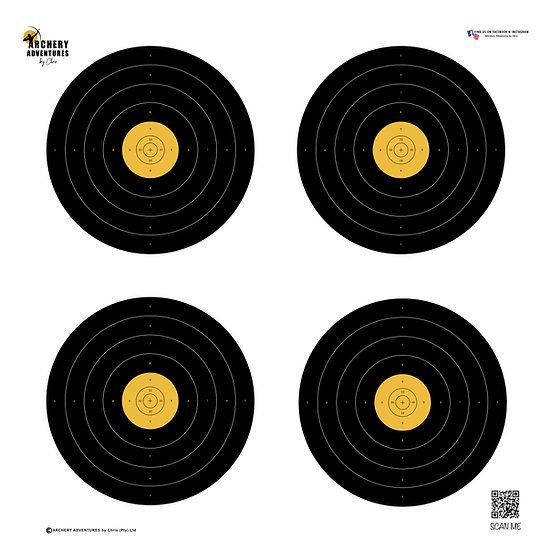 LongLife Field Archery Target Face 60cm