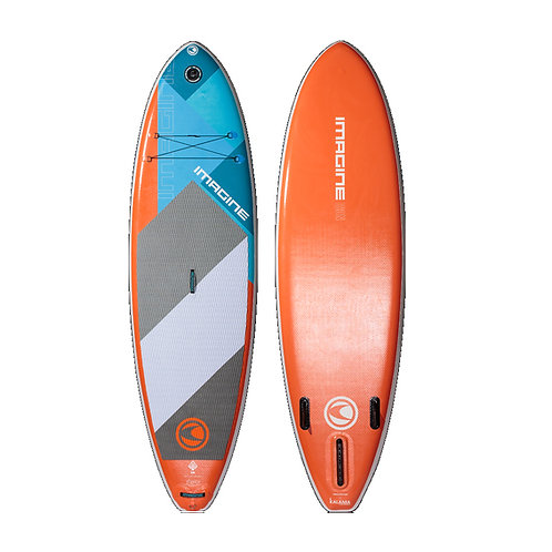 Imagine SUP - Surf (Orange) The Inflatable Icon DLX/ 衝浪板(橙色)ICON DLX