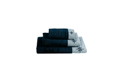 Marine Business Free Style Towel Set - Blue Navy/ 深藍色毛巾套裝