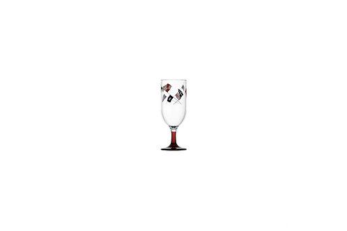 Marine Business Regata Mini Champagne Cup 6UN/ 防破醉紅底迷你香檳玻璃杯