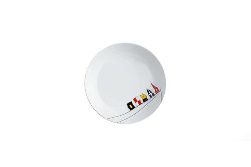 Marine Business Regata Flat Plate Non Slip 6UN/防破碎防滑盤