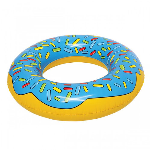 Blue Donut Pool Float/ 藍色甜甜圈救生圈