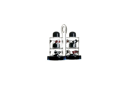 Marine Business Regata Set Oil Vinegar Salt and Pepper/ 防破碎防滑調味料套裝