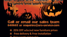 Spooktacular deals on new office furniture