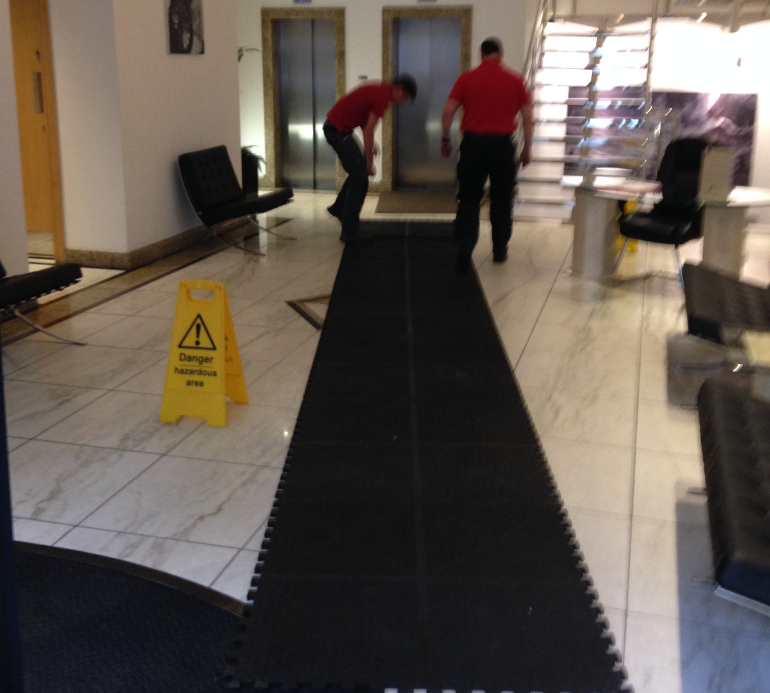Office Removals Floor Protection