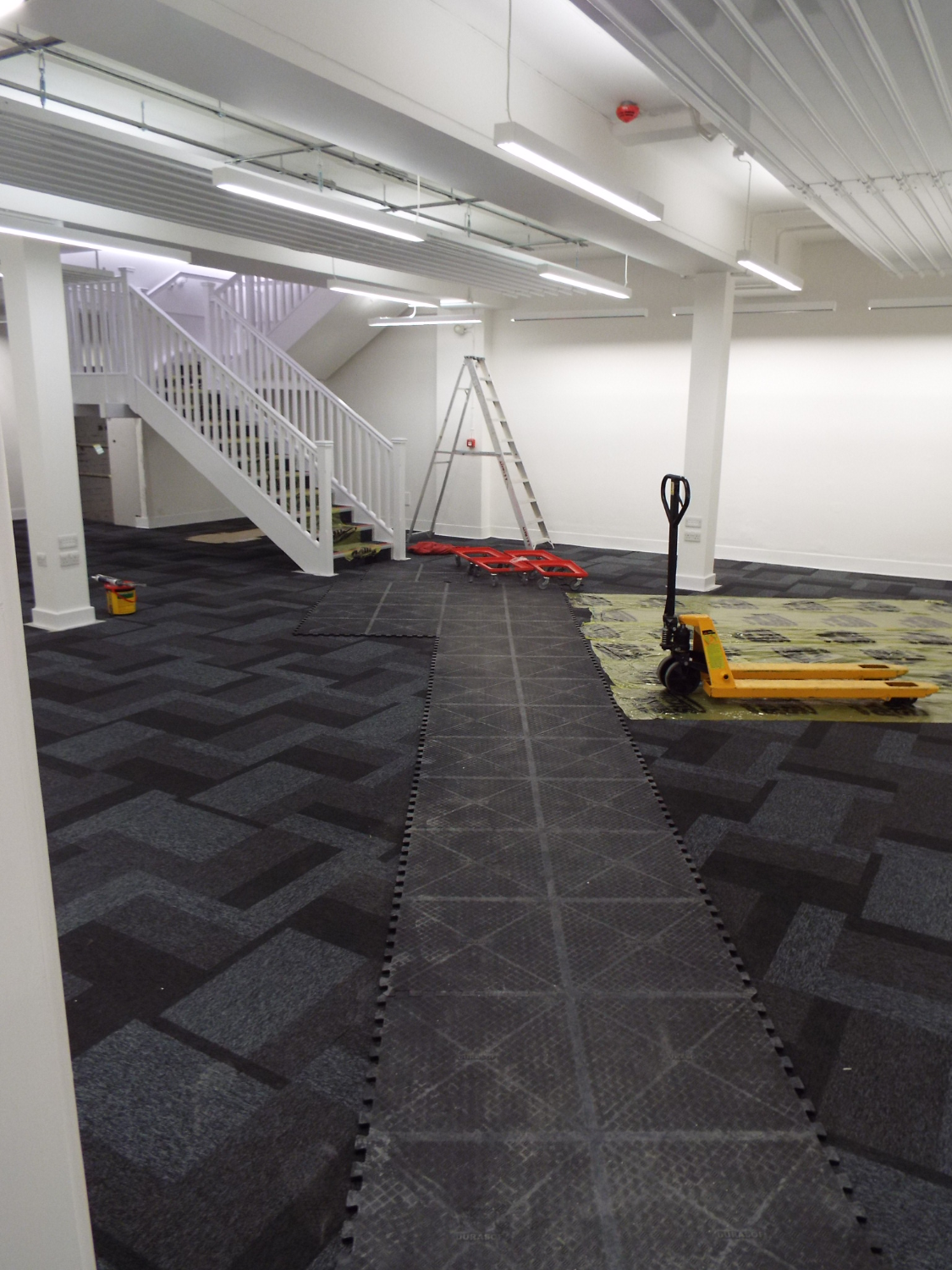 Office Removals Matting