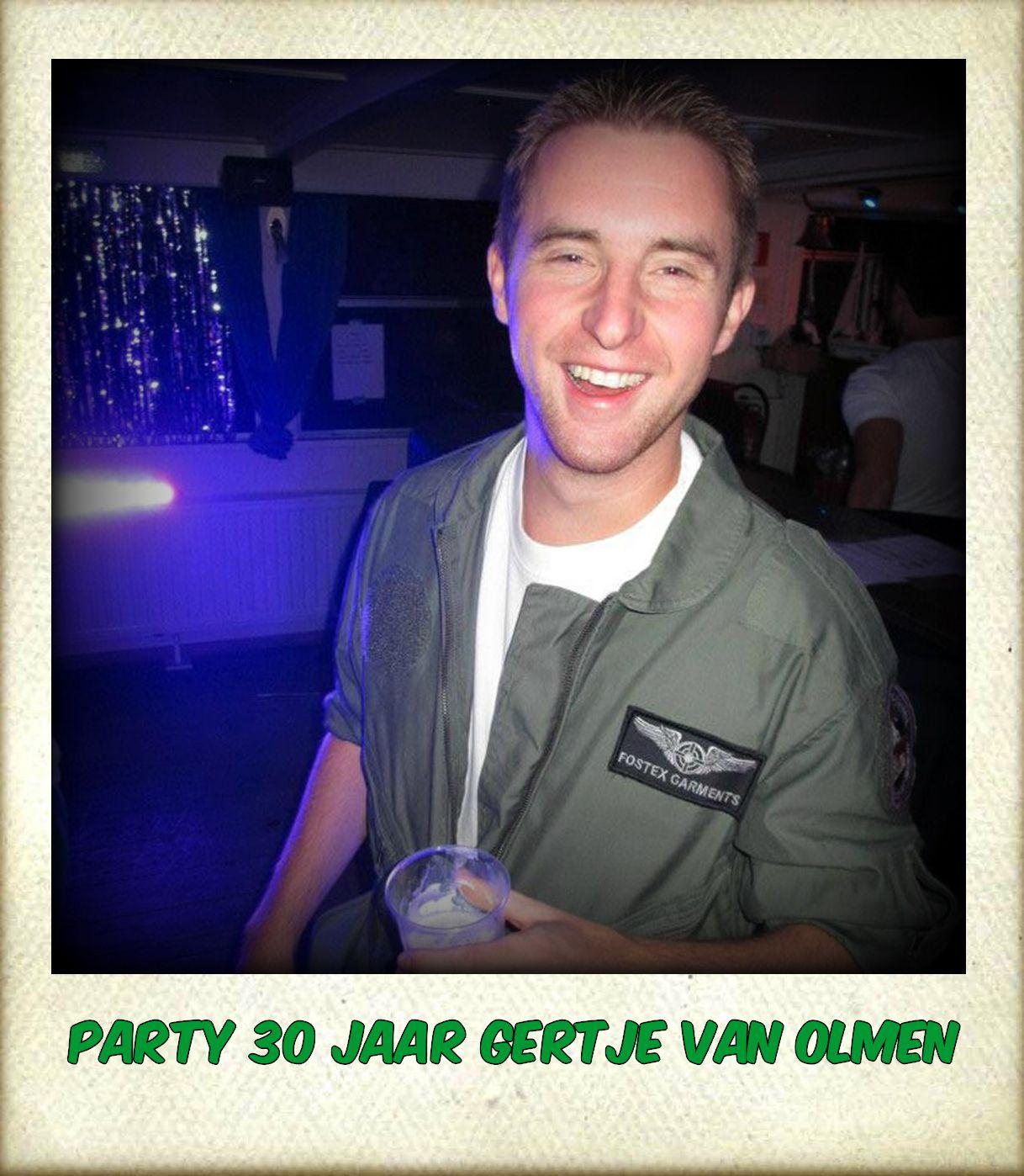 Gert geeft een feestje.....
