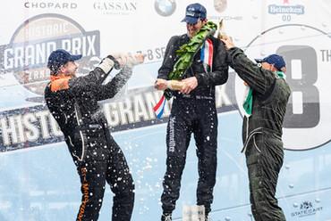 Zandvort Grand Prix Historic F1 Podium