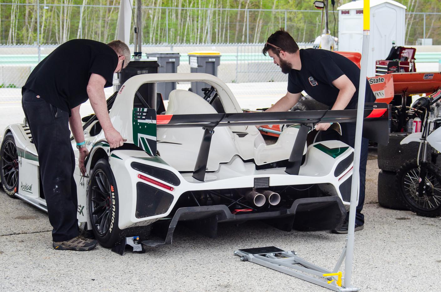 Era Motorsport - Radical SR3 Trackside Support