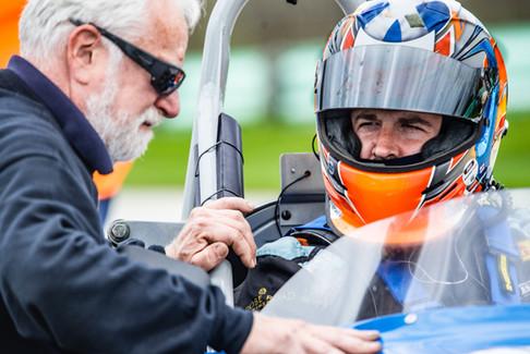 Kyle Tilley in a Formula Junior