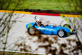 Formula Junior driven by Kyle Tilley