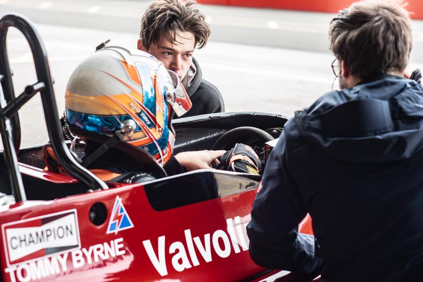 Era Motorsport - Kyle Tilley in a 1977 Ensign Formula One