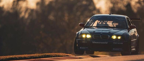 BMW driven by Kyle Tilley