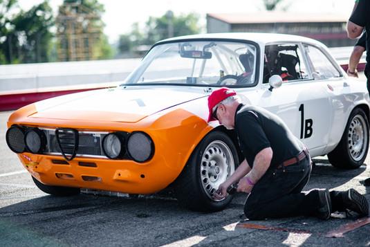 Era Motorsport Alfa GTV Trackside Support