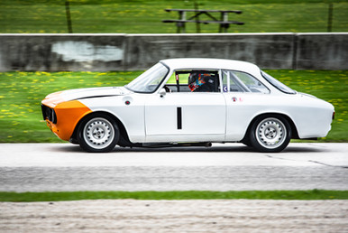 Alfa Romeo driven by Kyle Tilley