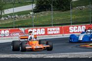 Kyle Tilley in a Matich A25 F5000