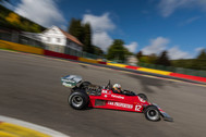 Ensign F1 at Spa with Kyle Tilley