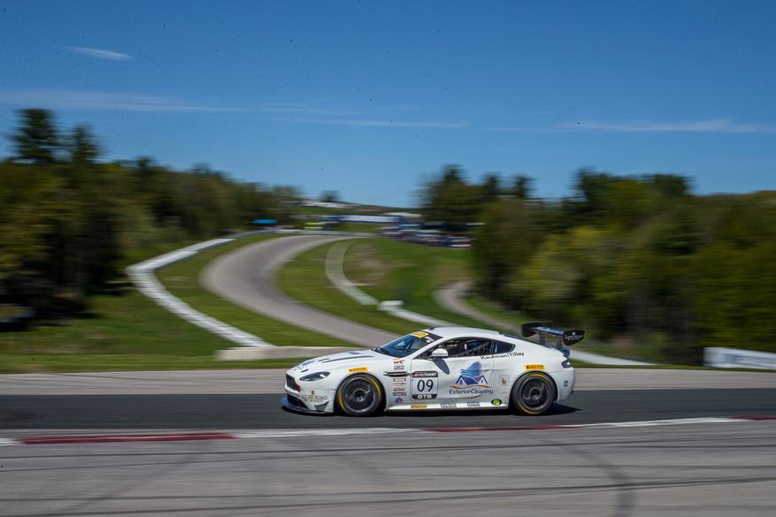 Aston Martin driven by Kyle Tilley