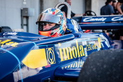 Formula 1 driven by Kyle Tilley