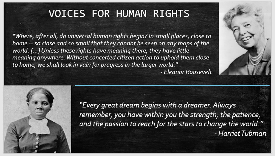 Voices for Human Rights