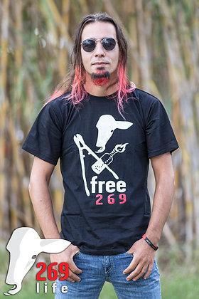 טי-שירט שחרור 269 גברים