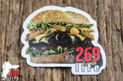 """""""Burger"""" Magnet"""