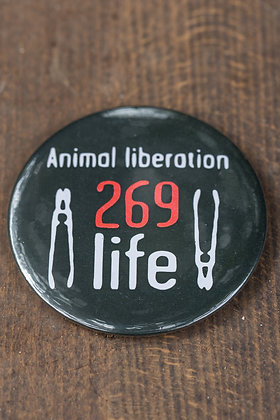 269Life Button Badge
