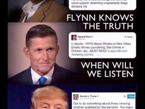 """""""Trump Is Still The Leader Of Our Party & The President Of The United States"""" ~ Mike Flynn"""