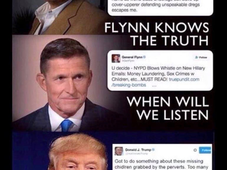 """Trump Is Still The Leader Of Our Party & The President Of The United States"" ~ Mike Flynn"